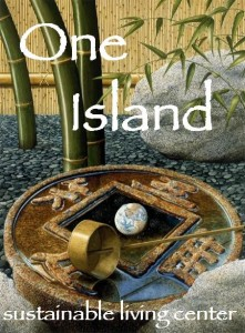 One Island logo courtesy Rob Schouten