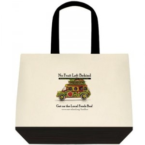 Deluxe cotton shopping bag / tote $25