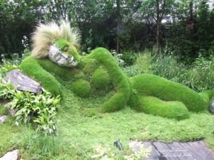grassSculpture