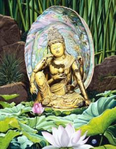 buddha lilly